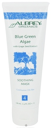 DROPPED: Aubrey Organics - Blue Green Algae with Grape Seed Extract Soothing Mask - 4 oz.