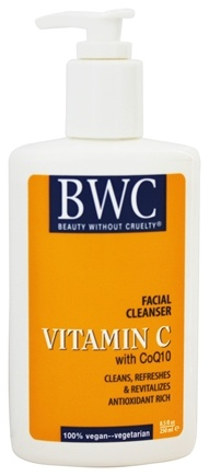 Beauty Without Cruelty - Vitamin C Facial Cleanser With CoQ10 - 8.5 oz.