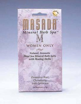 Zoom View - Dead Sea Mineral Herb Spa Salts, Women Only