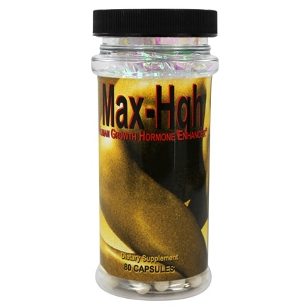Maximum International - Maximum Max-HGH - 80 Capsules