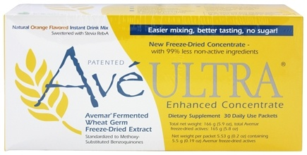 American BioSciences - Ave Ultra (Avemar Fermented Wheat Germ Extract) Orange - 30 Packet(s)