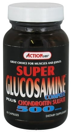 DROPPED: Action Labs - Super Glucosamine Complex 500 mg. - 60 Capsules