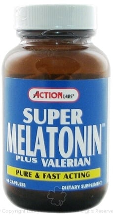 DROPPED: Action Labs - Super Melatonin Plus - 60 Capsules