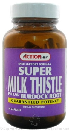 DROPPED: Action Labs - Super Milk Thistle Plus - 50 Capsules