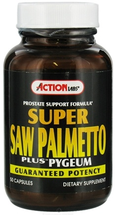 DROPPED: Action Labs - Super Saw Palmetto Plus - 50 Capsules CLEARANCE PRICED