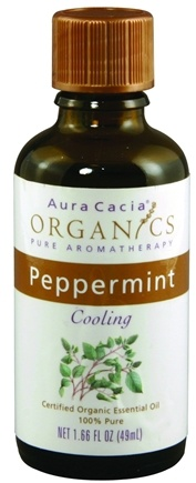 DROPPED: Aura Cacia - Certified Organic Essential Oil Peppermint - 1.66 oz. CLEARANCE PRICED
