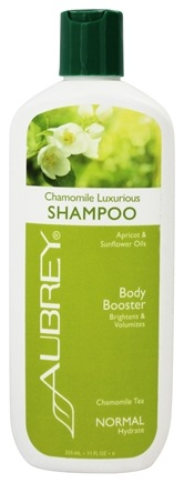 Aubrey Organics - Shampoo Luxurious Body Booster Chamomile Tea - 11 oz.