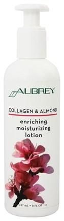 Aubrey Organics - Collagen & Almond Enriching Moisturizing Lotion - 8 oz.