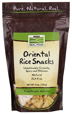 DROPPED: NOW Foods - Oriental Rice Snacks - 6 oz. CLEARANCE PRICED