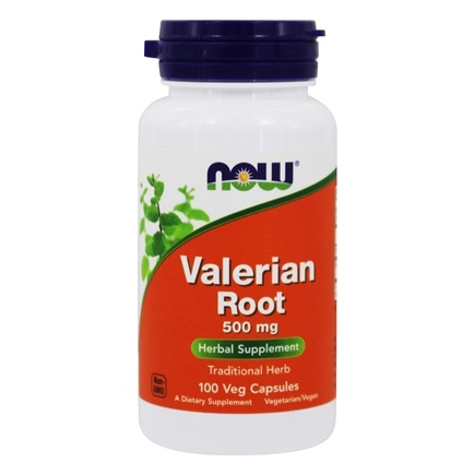 NOW Foods - Valerian Root 500 mg. - 100 Capsules
