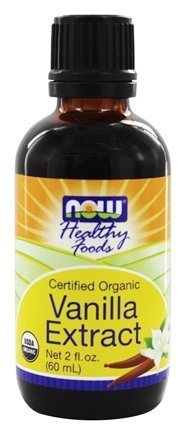 DROPPED: NOW Foods - Vanilla Liquid Extract, Organic - 2 oz.