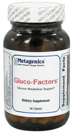 DROPPED: Metagenics - Gluco-Factors - 90 Tablets CLEARANCE PRICED