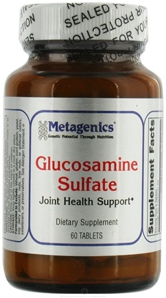 DROPPED: Metagenics - Glucosamine Sulfate - 60 Tablets