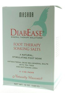 Zoom View - Diabease Foot Therapy Salt Natural Unscented