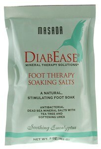 DROPPED: Masada - Diabease Foot Therapy Salt Soothing Eucalyptus - 3 oz.