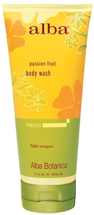 DROPPED: Alba Botanica - Alba Hawaiian Body Wash Passion Fruit - 7 oz. CLEARANCE PRICED