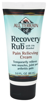 All Terrain - Recovery Rub with 5% Menthol - 3 oz. LUCKY PRICE