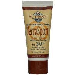 DROPPED: All Terrain - TerraSport Sunscreen Lotion CLEARANCE PRICED 30 SPF - 3 Oz.