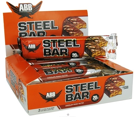 DROPPED: ABB Performance - Steel Bar Chocolate Peanut Butter - 2.5 oz.
