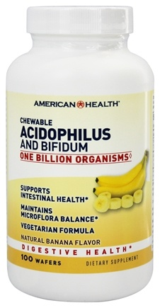Zoom View - Acidophilus Chewable With Bifidus