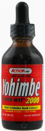 DROPPED: Action Labs - Yohimbe Power Max 2000 Extract - 2 oz. CLEARANCE PRICED