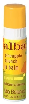 DROPPED: Alba Botanica - Alba Hawaiian Lip Balm Pineapple Quench - 0.15 oz. CLEARANCE PRICED