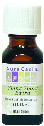 DROPPED: Aura Cacia - 100% Pure Essential Oil Ylang Ylang Extract CLEARANCE PRICED - 0.5 oz.