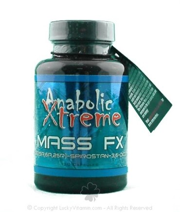 DROPPED: Anabolic Xtreme - Mass FX - 120 Capsules CLEARANCE PRICED