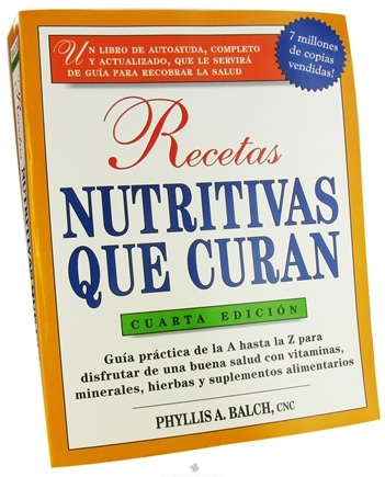 DROPPED: Avery Publishing - Prescription for Nutritional Healing in Spanish (Recetas Nutritivas Que Curan) - 1 Book CLEARANCE PRICED