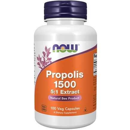 NOW Foods - Propolis 500 mg. - 100 Capsules