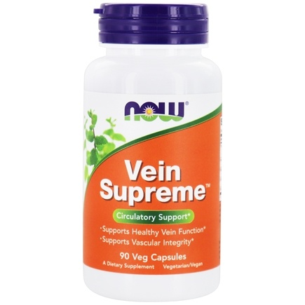 NOW Foods - Vein Supreme - 90 Vegetarian Capsules