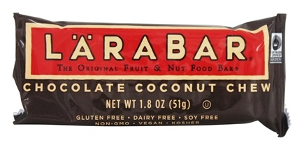 Larabar - Original Fruit & Nut Bar Chocolate Coconut Chew - 1.8 oz.