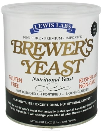 Zoom View - Brewer's Yeast Nutritional Yeast