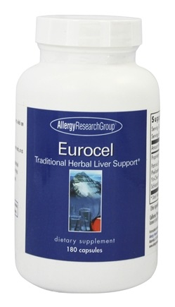 Zoom View - Eurocel Traditional Herbal Liver Support
