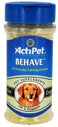 DROPPED: ActiPet - Behave Powder For Dogs - 100 Grams CLEARANCE PRICED