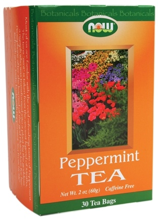 DROPPED: NOW Foods - Peppermint Tea - 30 Tea Bags