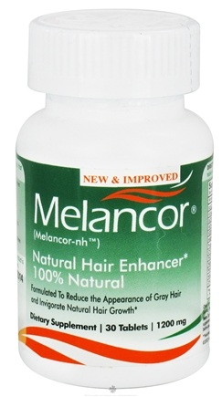 DROPPED: Melancor - Melancor-NH Natural Hair Enhancer - 30 Tablets