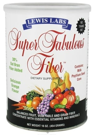 DROPPED: Lewis Labs - Super Fabulous Fiber - 16 oz.