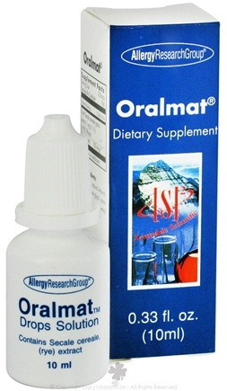 DROPPED: Allergy Research Group - Oralmat Liquid Drops - 10 cc.