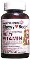 DROPPED: American Health - Chewy Bears Multiple Vitamin with Calcium Berry Flavor - 60 Tablets
