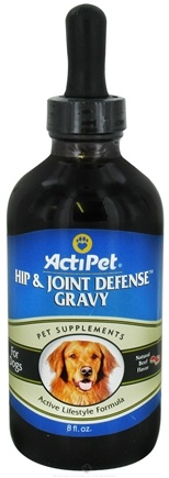 ActiPet - Hip & Joint Defense Gravy For Dogs Beef Flavor - 8 Oz.
