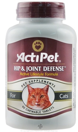 DROPPED: ActiPet - Hip & Joint Defense For Cats - 90 Capsules