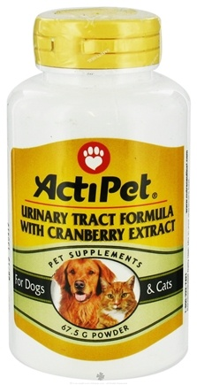 DROPPED: ActiPet - Urinary Tract Powder Formula For Cats & Dogs - 67 Grams CLEARANCE PRICED