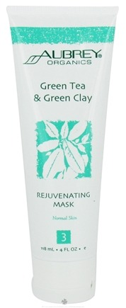 DROPPED: Aubrey Organics - Green Tea & Green Clay Rejuvenating Mask - 4 oz.