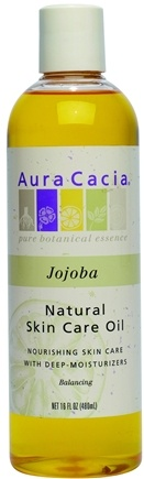 DROPPED: Aura Cacia - Natural Skin Care Oil Jojoba - 16 oz. CLEARANCE PRICED