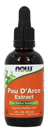 NOW Foods - Pau D'Arco Extract - 2 oz.