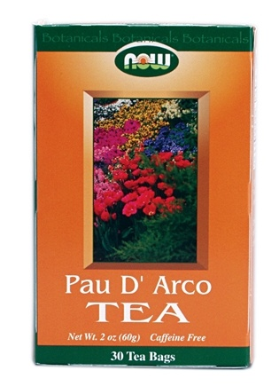 DROPPED: NOW Foods - Pau D'Arco Tea - 30 Tea Bags