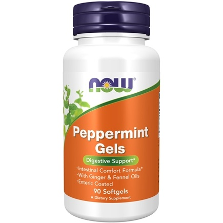 NOW Foods - Peppermint Gels - 90 Softgels