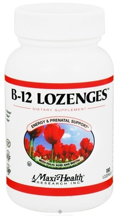 Zoom View - B-12 Lozenges With Folic Acid & Biotin