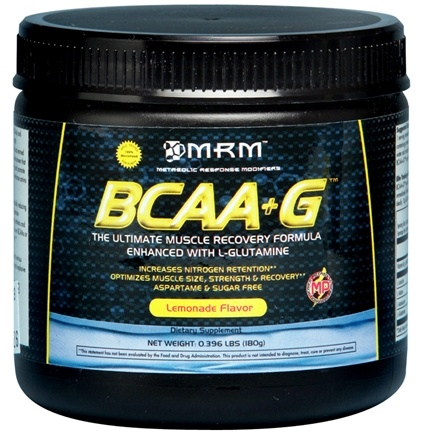 DROPPED: MRM - BCAA + G Ultimate Recovery Formula - 180 Grams CLEARANCE PRICED